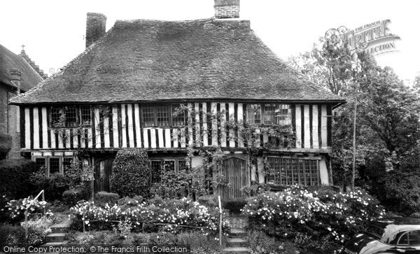 Photo of Smallhythe, Ellen Terry's House c1955, ref. s701070