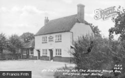 Smallfield, An Old Coaching Call, The Historic Plough Inn c.1955