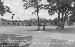 Smallfield, The Hospital Administration Block c.1950