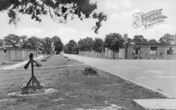 Smallfield, The Hospital Drive c.1950