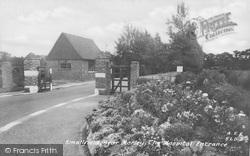 Smallfield, The Hospital Entrance c.1950