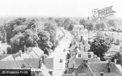 Smarden, View From The Church Tower c.1955