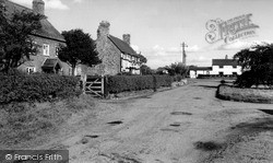 Smithy Green, The Cottages c.1960