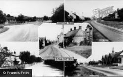 Snainton, Greetings From Snainton Composite c.1960