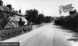 Snainton, Station Road c.1960