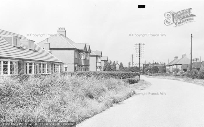 Photo of Snaith, Butt Lane c.1960