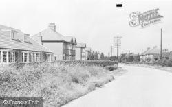 Snaith, Butt Lane c.1960
