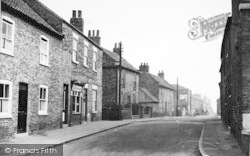 Snaith, George Street c.1950