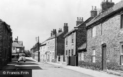 Snaith, George Street c.1960