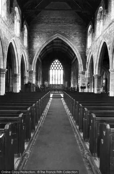 Photo of Snaith, High Altar, St Laurence Church 1969
