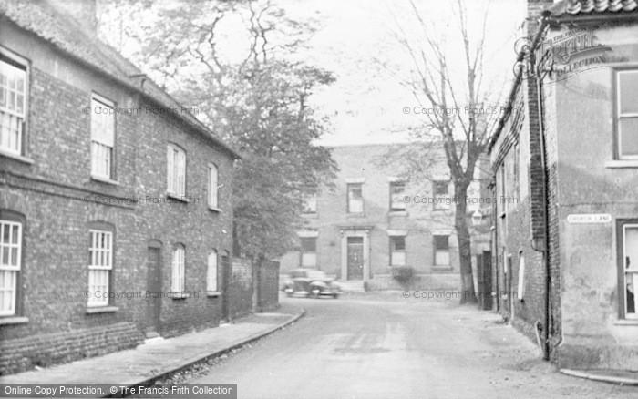 Photo of Snaith, High Street c.1950