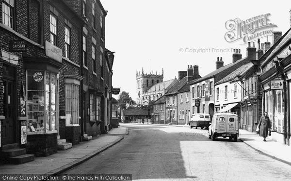 Photo of Snaith, Market Street 1958