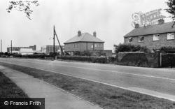Snaith, Pontefract Road c.1960