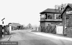 Snaith, Railway Station c.1950
