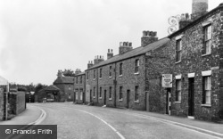 Snaith, Sherburn Terrace c.1960