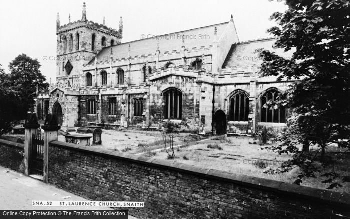 Photo of Snaith, St Laurence's Church c.1970