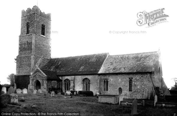 Snape, Church 1909