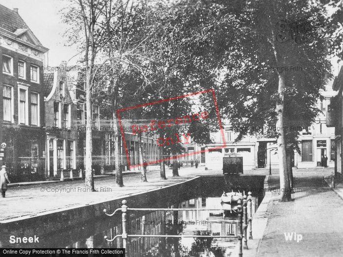 Photo of Sneek, Eierbrug c.1930