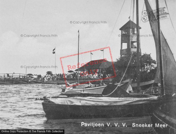 Photo of Sneek, Sneekermeer Paviljoen c.1930