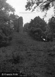 Snodhill, Snodhill Castle 1953