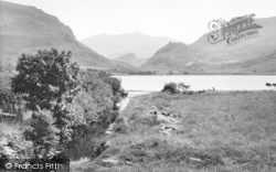 Snowdon, And The Lake c.1955