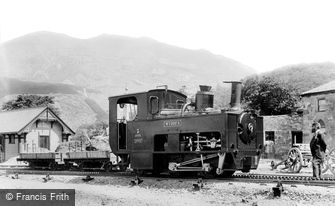 Snowdon, Snowdon Mountain Railway 1896