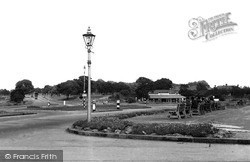 Socketts Heath, Daneholes Roundabout c.1955