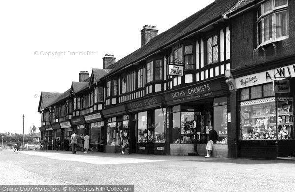 Photo of Socketts Heath, The Parade, Lodge Lane c.1955