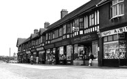Socketts Heath, the Parade, Lodge Lane c1955