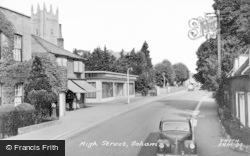 Soham, High Street c.1955