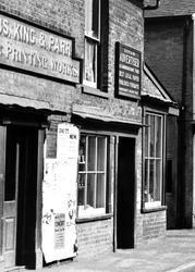 Hobbs, King & Parr, Churchgate Street c.1955, Soham
