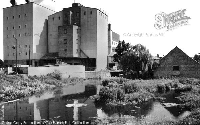 Soham,the Mill c1955,Cambridgeshire