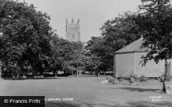 Soham, The Recreation Ground c.1955