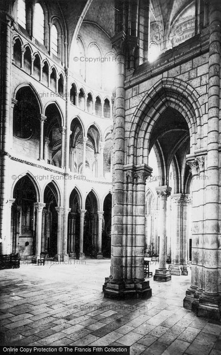 Photo of Soissons, Cathedral, Interior c.1910