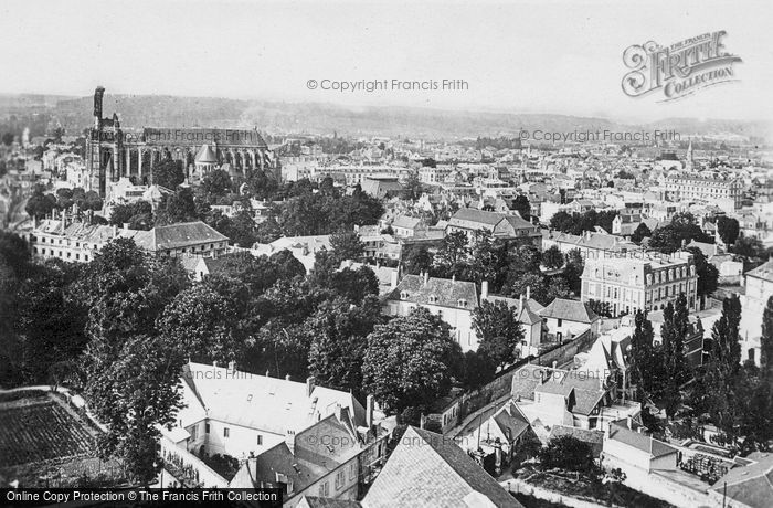 Photo of Soissons, Rooftop View c.1920