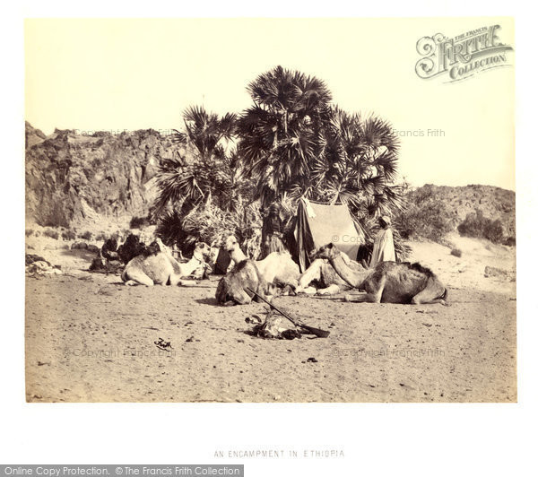 Photo of Soleb, Francis Frith's Encampment 1860