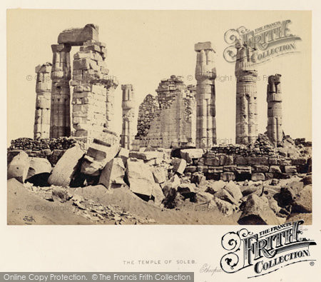 Photo of Soleb, The Temple Of Soleb 1860