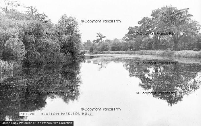 Photo of Solihull, Brueton Park c.1965