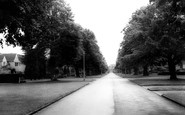 Solihull, Entrance to Malvern Hall School c1965