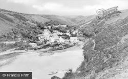 Lower Village c.1955, Solva
