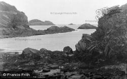 Quadan Bathing Cove c.1950, Solva