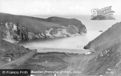Quadan From The Gribbin c.1955, Solva