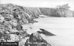 The Cliffs c.1960, Solva
