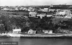 The Harbour And Upper Solva From The Gribbin c.1955, Solva