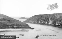 The Harbour c.1950, Solva