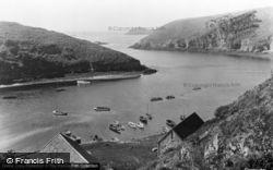 The Quay And Harbour c.1955, Solva