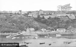 Upper Solva And Harbour c.1960, Solva