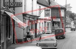 A Lady And A Pram, High Street c.1965, Somersham