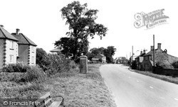 Somersham, Bank Houses c.1960