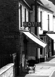 Bonnet's The Baker, High Street c.1960, Somersham